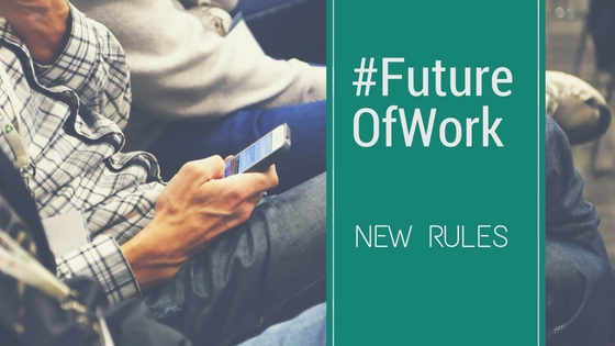 Write the new rules of work (1)