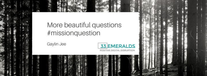 More beautiful questions