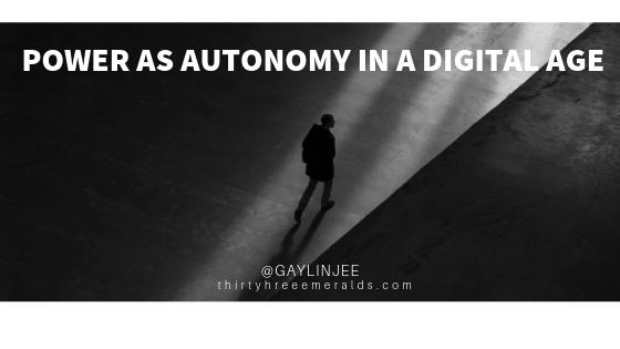 Power as autonomy